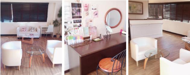 beauty design aqubi(アクビ)店内